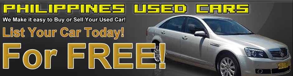 Philippines Used Cars Buy and Sell FREE Classifieds